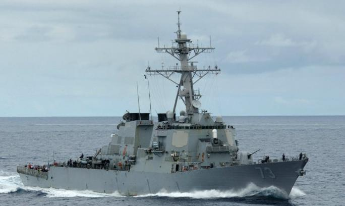 美国军舰进入黄岩岛12海里 中国海军警告驱离