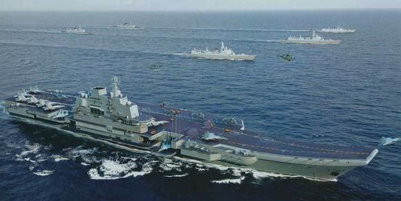 中国已接近世界舞台中央?海军演练远洋作战 6艘航母稳居全球第二