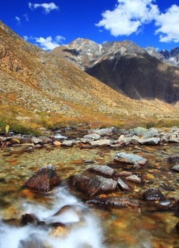 西藏嘎玛沟风景图片
