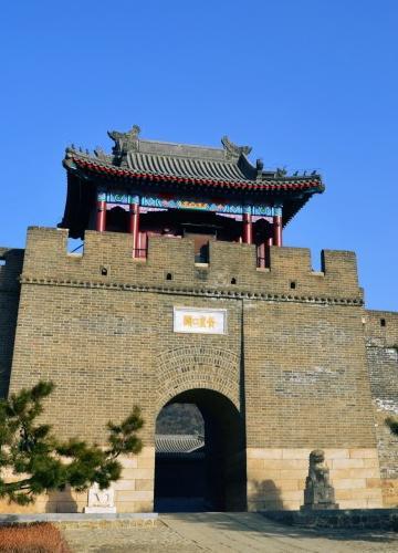 天津黄崖关长城风景图片