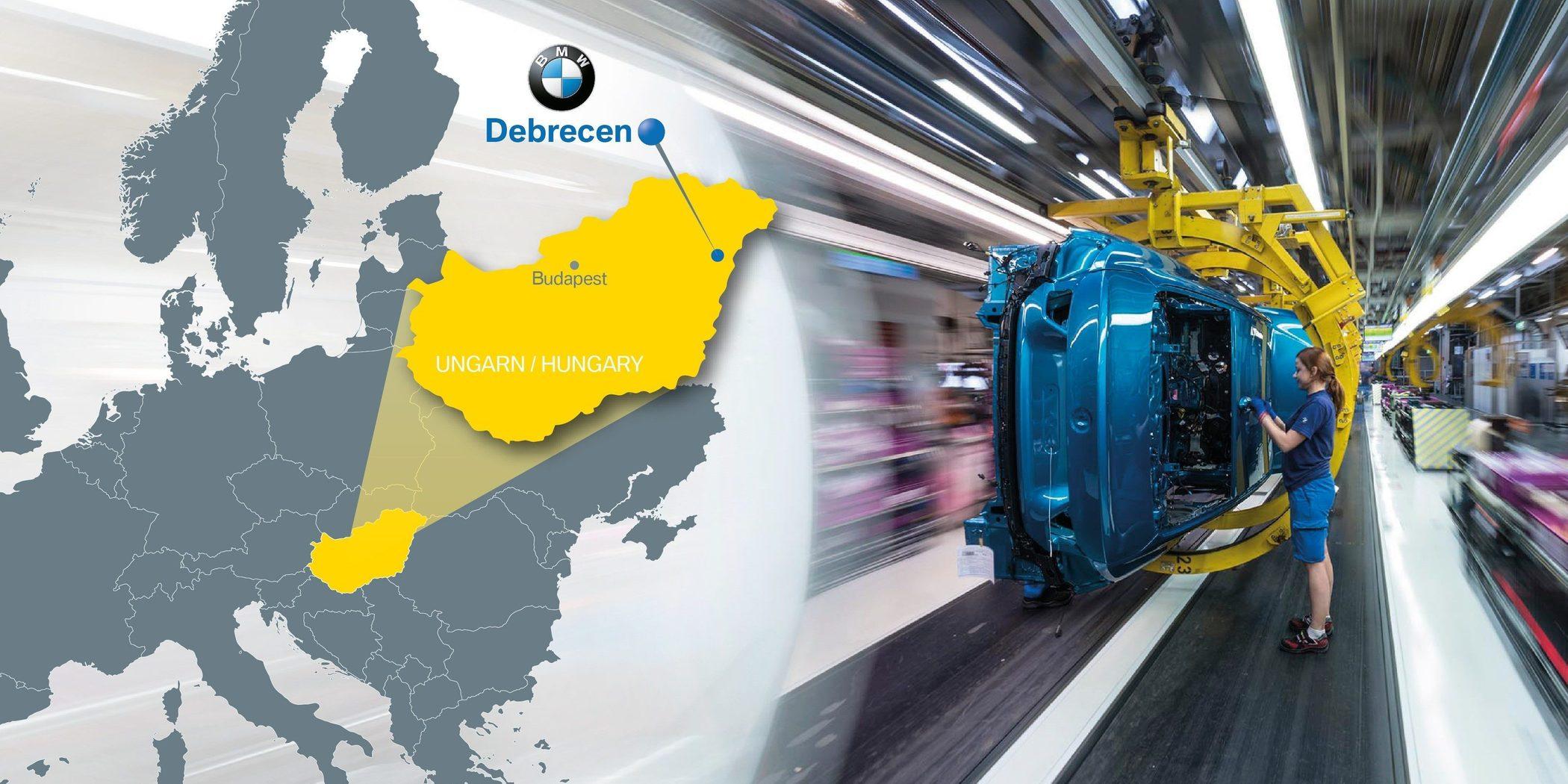 宝马宣布在匈牙利建新厂 准备年产15万辆电动汽车