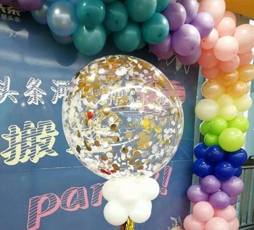 洛阳洛龙创意生日气球装饰|【乐多气球】(图)