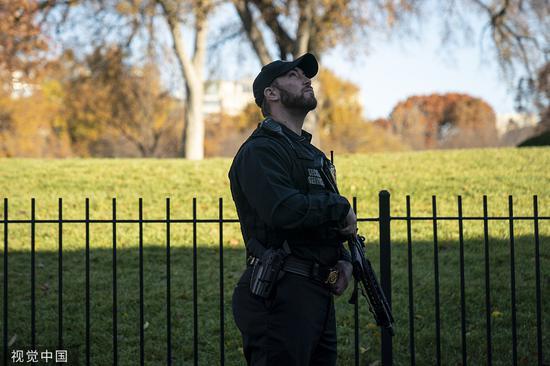 美国白宫关闭军机出动 可能只是因为一群鸟?