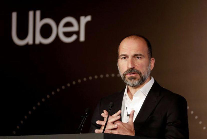 Uber CEO:疫情对公司影响不大,外卖业务可能受益