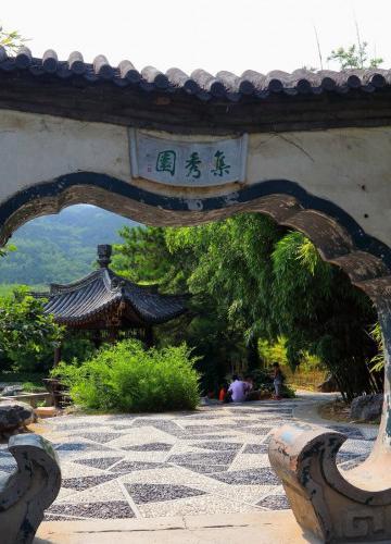 北京植物园风景图片